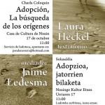 Panda Adopción. Conferencia Pamplona