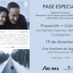 La adopción. Película. Segovia